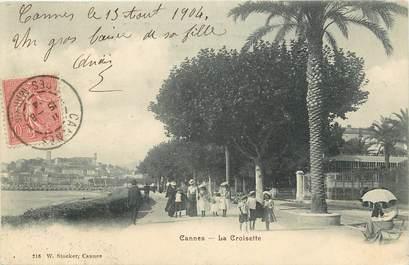 """CPA  """"Cannes, La Croisette"""""""
