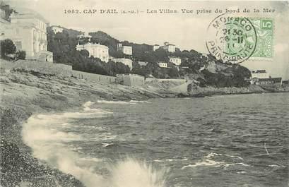 "CPA FRANCE 06 ""Cap d'Ail, les villas"""