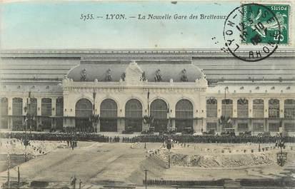 """CPA FRANCE 69 """"Lyon, la nouvelle gare"""""""