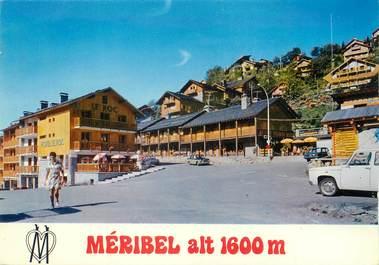 """/ CPSM FRANCE 73 """"Méribel, le centre de la station"""""""