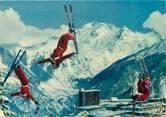 """73 Savoie / CPSM FRANCE 73 """"Cascadeurs à Courchevel"""" / SKI"""