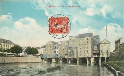 """CPA FRANCE 77 """"Meaux, les vieux moulins"""""""