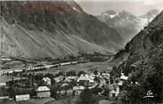 """05 Haute Alpe CPSM FRANCE 05 """"La Chapelle en Valgaudemar, vue générale, dans le fond les Aupillous"""""""