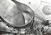 """22 Cote D'armor / CPSM FRANCE 22 """"Station spatiale de Pleumeur Bodou, antenne de Télécommunication"""""""