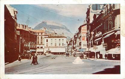 "CPA FRANCE 38 ""Grenoble, la place grenette"""
