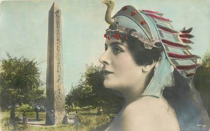 "CPA EGYPTE "" Femme"""