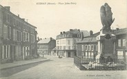 "55 Meuse / CPA FRANCE 55 ""Stenay, place Jules Ferry"""