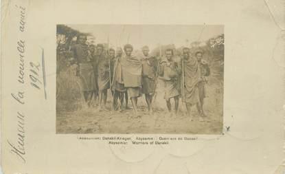 CARTE PHOTO ETHIOPIE 1912