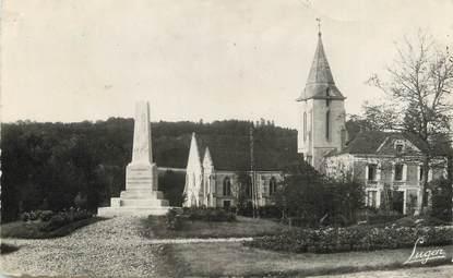 """/ CPSM FRANCE 76 """"Notre Dame de Gravenchon, le monument aux morts"""""""