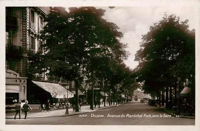"""CPSM FRANCE 21 """"Dijon, avenue du Mal Foch"""""""