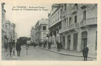 "CPA MAROC ""Tanger, bld Pasteur"""