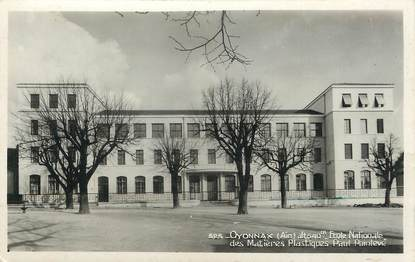 """/ CPSM FRANCE 01 """" Oyonnax, école nationale des matières plastiques"""""""