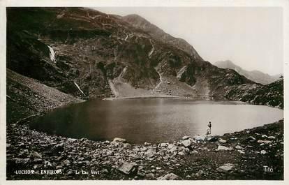 """CPSM FRANCE 31 """"Luchon et ses environs, le lac vert"""""""