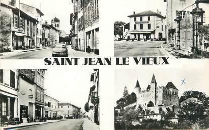 """/ CPSM FRANCE 01 """"Saint Jean le Vieux"""""""