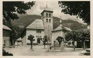 """74 Haute Savoie / CPSM FRANCE 74 """"Sallanches, place de l'église"""""""