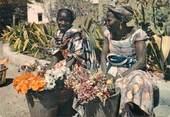 """Afrique   CPSM SENEGAL """"Dakar, marchande de fleurs"""""""