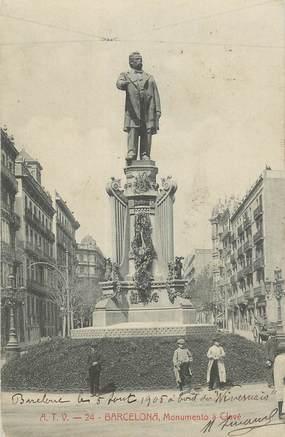 """CPA ESPAGNE """"Barcelone"""""""