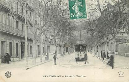 "/ CPA FRANCE 83 ""Toulon, avenue Vauban"""
