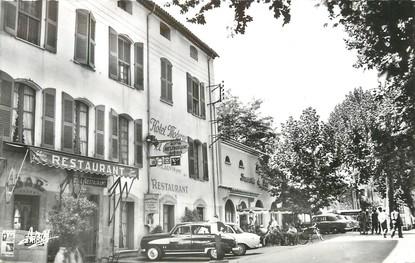 """/ CPSM FRANCE 83 """"Lorgues, hôtel moderne et du Parc"""""""