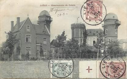 """CPA  BELGIQUE """"Liège, observatoire de Cointe"""""""