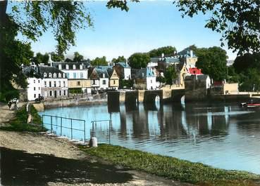 "/ CPSM FRANCE 56 ""Auray Saint Goustan, Bord du Loch"""