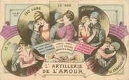 """Militaire  CPA MILITAIRE PATRIOTIQUE """"L'Artillerie de l'Amour"""""""