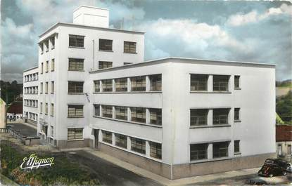 """/ CPSM FRANCE 51 """"Sezanne, l'usine d'optique de Saint Hubert"""""""