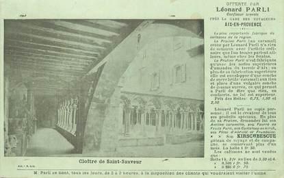 "/ CPA FRANCE 13 ""Aix en Provence, cloitre de Saint Sauveur"""