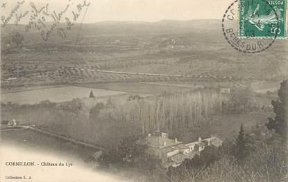 "/ CPA FRANCE 13 ""Cornillon, château du Lys"""