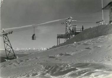 "/ CPSM FRANCE 25 ""Télébenne du Mont d'Or, la gare du sommet"""