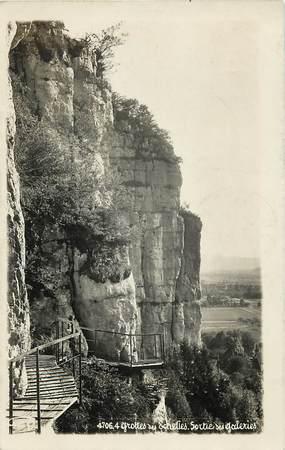 """CPSM FRANCE 73 """"Les Echelles, les Grottes"""""""
