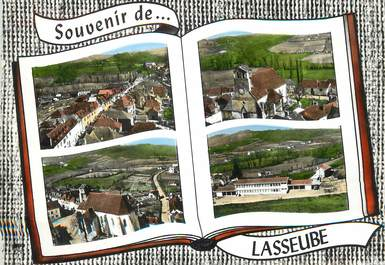 """/ CPSM FRANCE 64 """"Lasseuben vue générale"""""""
