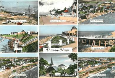 """CPSM FRANCE 44 """"Tharon plage"""""""