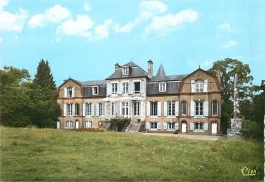 """/ CPSM FRANCE 14 """"Maisoncelles la Jourdan, le château"""""""