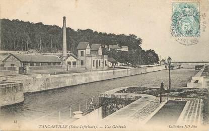 """/ CPA FRANCE 76 """"Tancarville, vue générale"""""""