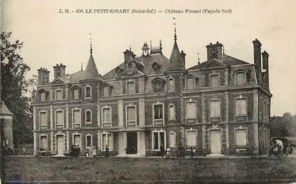 """/ CPA FRANCE 76 """"Le Petit Essart, château Pimont"""""""