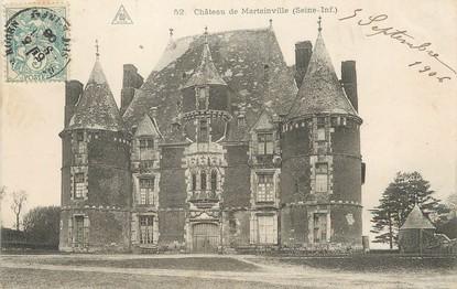"""/ CPA FRANCE 76 """"Château de Martainville"""""""