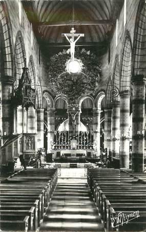 """/ CPSM FRANCE 76 """"Cany Barville, intérieur de l'église Saint Martin"""""""