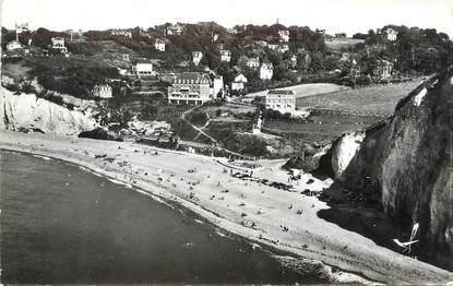 """/ CPSM FRANCE 76 """"Saint Pierre en Port, la plage"""""""