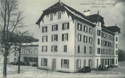 """CPA FRANCE 38 """"Villard de Lans, Hotel de Paris"""""""