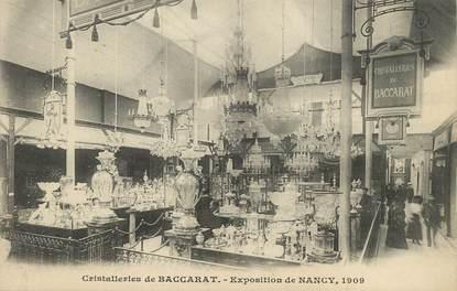 "/ CPA FRANCE 54 ""Exposition de Nancy, cristalleries de Baccarat"""