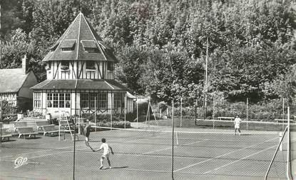 """/ CPSM FRANCE 76 """"Saint Valery en Caux, les tennis"""""""