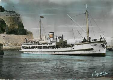 """/ CPSM FRANCE 56 """"Belle Isle en Mer, le départ du Guédel"""""""