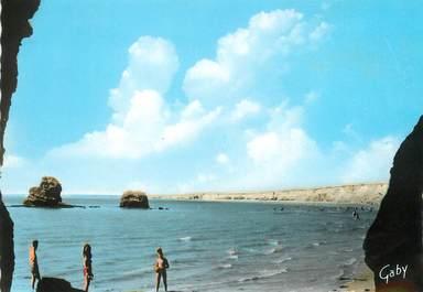 """/ CPSM FRANCE 56 """"Penestin sur Mer, plage de la mine d'or"""""""