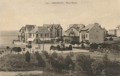 "/ CPA FRANCE 56 ""Quiberon, place Hoche"""