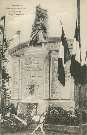 "/ CPA FRANCE 54 ""Longuyon, monument aux morts"""