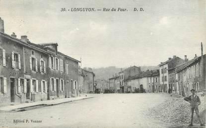 """/ CPA FRANCE 54 """"Longuyon, rue du Four"""""""
