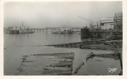 """/ CPSM FRANCE 56 """"Lorient, le pont du chemin de fer"""""""