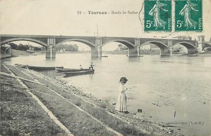 """/ CPA FRANCE 71 """"Tournus, bords de la Saône"""""""