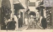 """Tunisie CPA TUNISIE """"Tunis, rue de l'Eglise"""""""